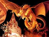 Dragon Attacks Town