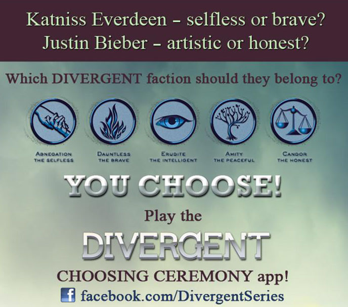 Insurgent — Choosing Ceremony app!
