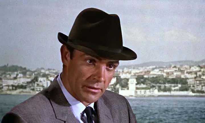 Screen Shot Of Hollywood Movie From Russia with Love (1963) In Hindi English Full Movie Free Download And Watch Online at Alldownloads4u.Com