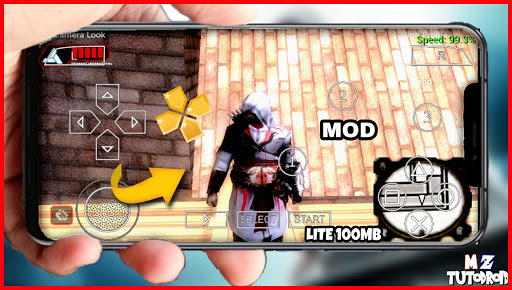 SAIU! NOVO ASSASSIN'S SCREED BLOONDLINES (MOD) TEXTURA EM HD LITE 100MB Para Android (PPSSPP)