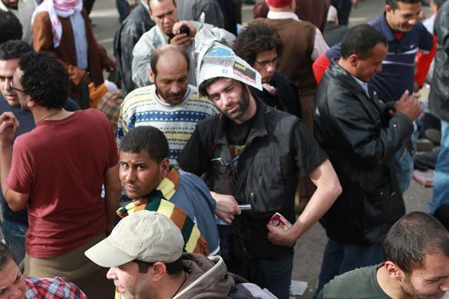 Egyptian Revolution شريف الحكيم Justimage