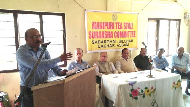 Non Manipuri CSOs resolve to protect Manipuri Tea stall