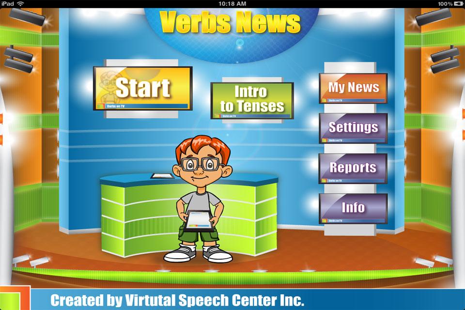 Verbs News Main Page
