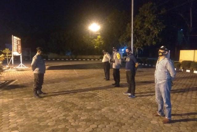 Antisipasi Meningkatnya Penyebaran Covid -19, Polsek Padang Hulu Gencar Himbau Disiplin Prokes