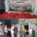 Sambangi Waelata, KAMMI Buru bagi Paket Ramadhan