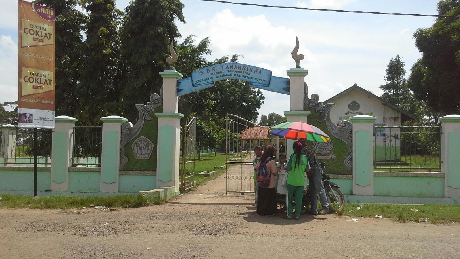 Sd Taman Siswa Desa Tanjungtiga Salah Satu Sekolah Dasar Tertua Di