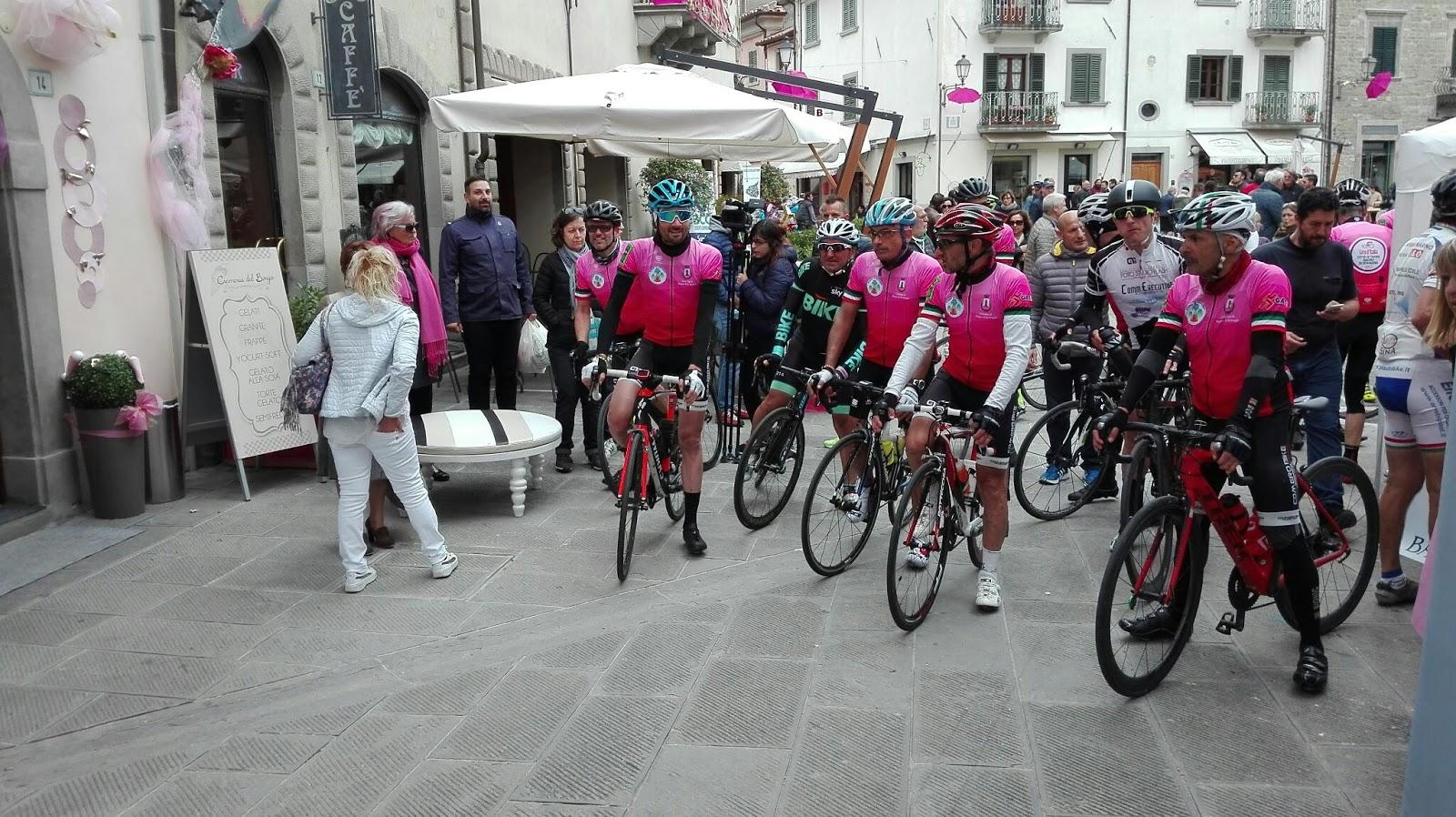 Linea Gotica Bagno di Romagna si tinge di rosa in attesa del Giro dItalia