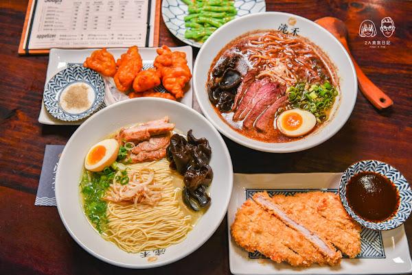 滝禾製麵所太平店:台中太平區美食-可以自由搭配湯頭、肉品及麵條的日式手作拉麵店!