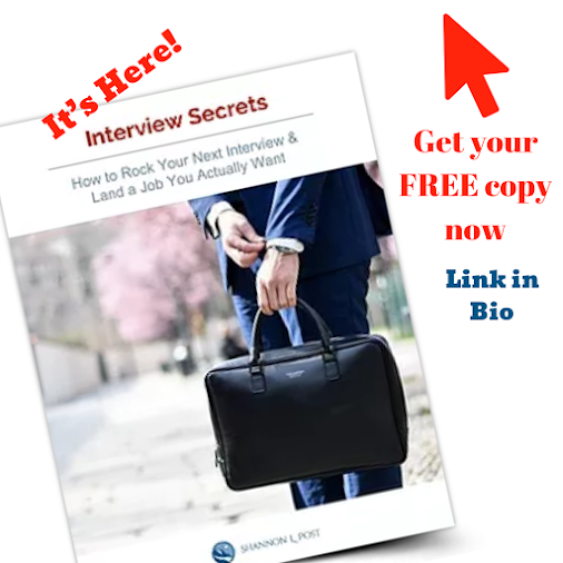 DON'T BOMB ANOTHER INTERVIEW  Get my 🌟Interview Secrets 🌟FREE Download: www.shannonlpost.com/interview...