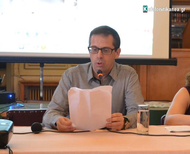 Ο Ηλίας Τουμασάτος για την επτανησιακή κουλτούρα, στο ΤΕΙ (24.10.2017)