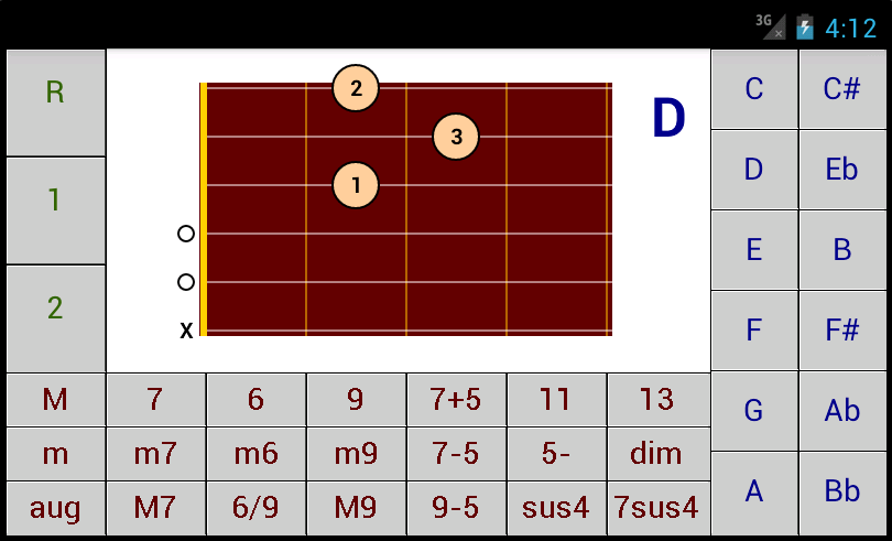 Dg Guitar Chords Dg Android Applications
