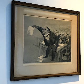 William Gropper Signed Lithograph #1