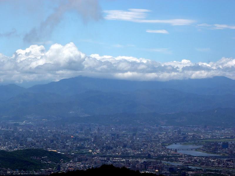 Taipei vue de Yangmingshan