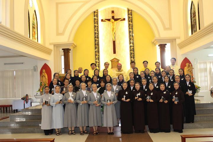 Thánh lễ bế giảng lớp thần học liên tu sĩ tại Tòa Giám Mục Nha Trang vào lúc 15g00, ngày 30/7/2016