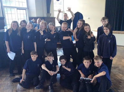 Rap and rugby for school pupils