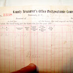 Another image of tax receipt