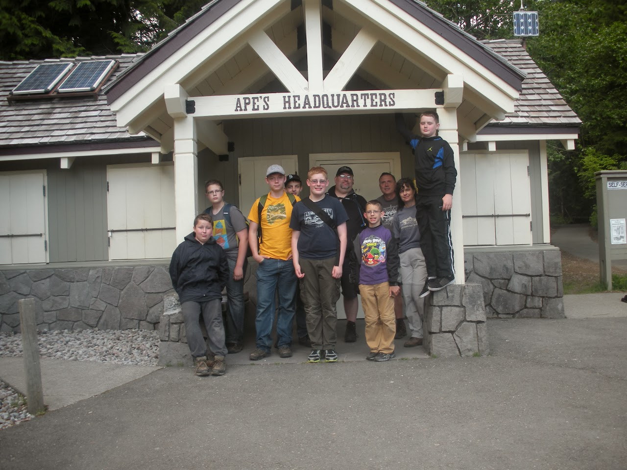 Ape Cave Camp May 2013 - DSCN0290.JPG