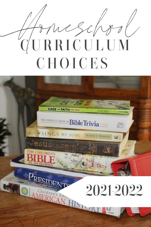 Homeschool Curriculum Choices 2021-2022 #homeschool #homeschoolcurriculum #cmhomeschool
