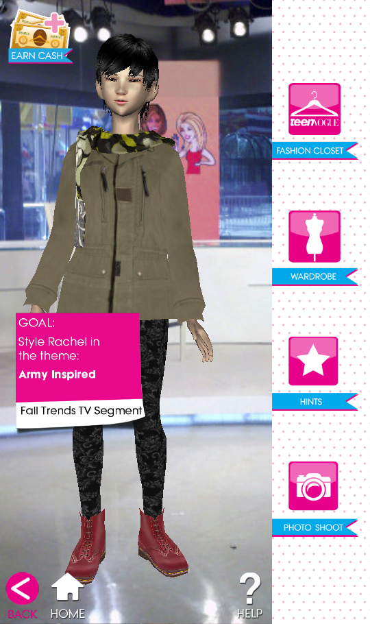 Teen Vogue Me Girl Level 46 - Fall Trends  TV Segment - Rachel - Snapshot