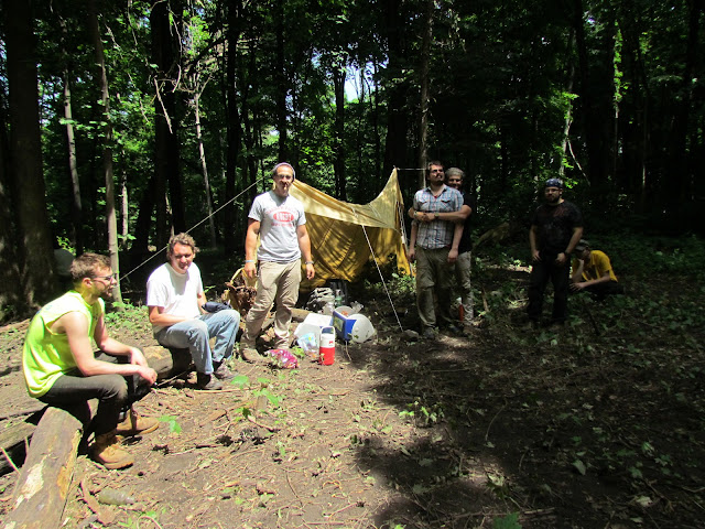 Event 2014: Apple Island Dig Lab - lunch%2Bbreak.JPG