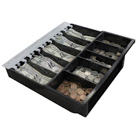 CASH DRAWER MONEY TRAY