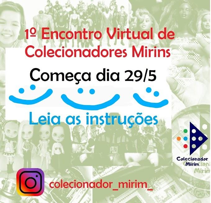 SEMANA MUNDIAL DO BRINCAR - 1º Encontro Virtual de Colecionadores Mirins.