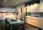 cucina Code Snaidero visibile nella nostra espozione di Zogno, Bergamo, Lombardia