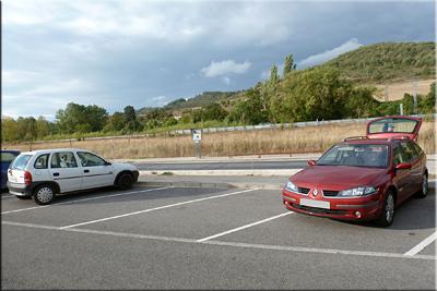 Zona de aparcamiento