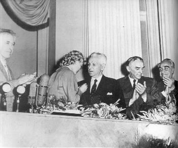 1959. Ιούλης, Μόσχα. Στην τελετή του βραβείου Λένιν
