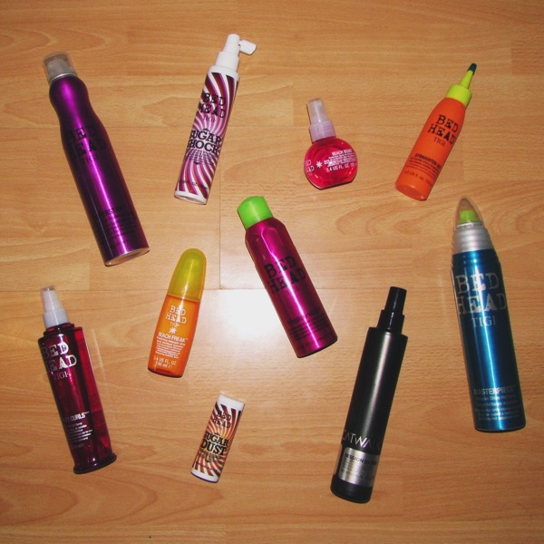 TIGI Hair Products