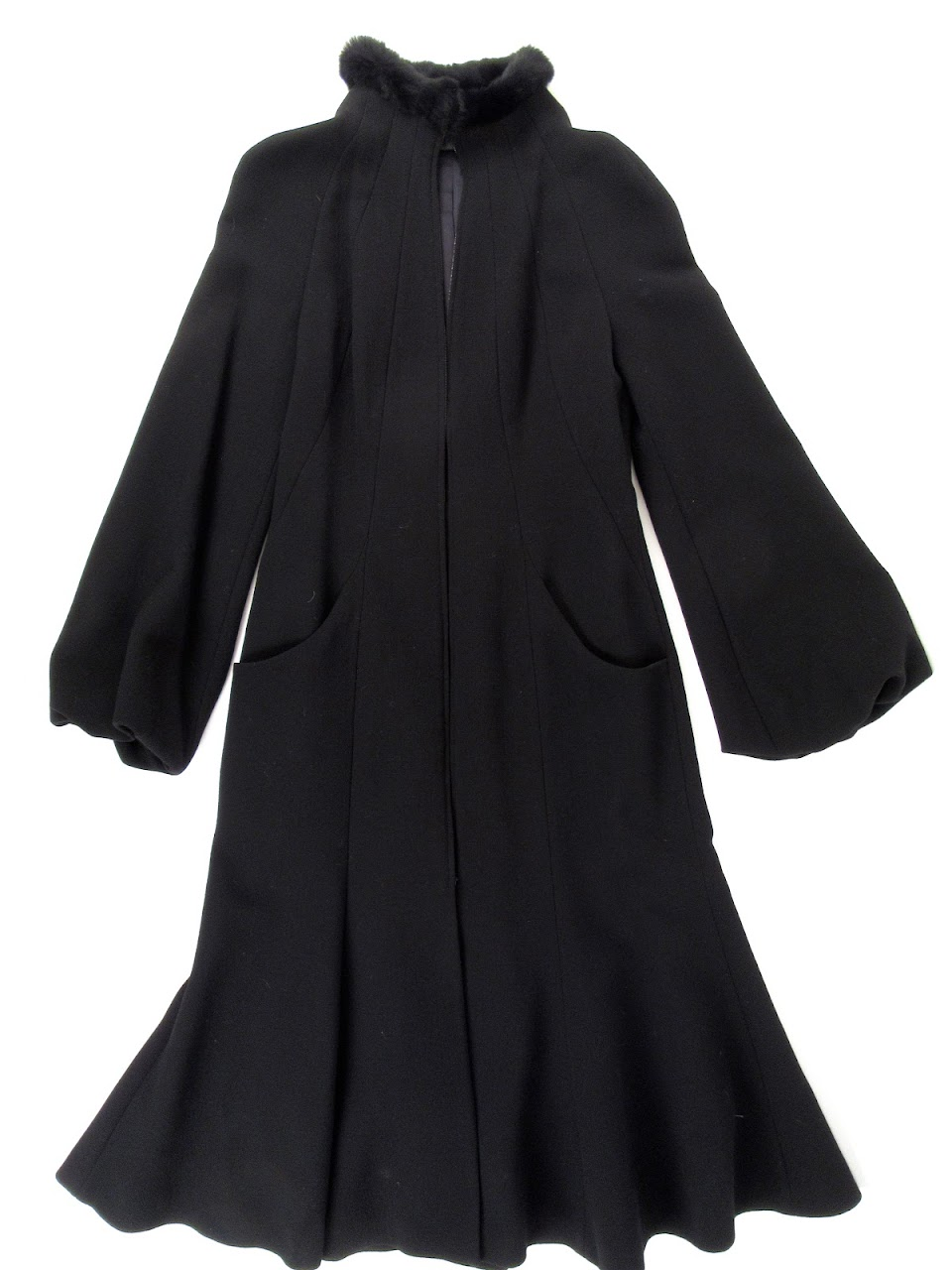 Alexander McQueen Full Length Coat