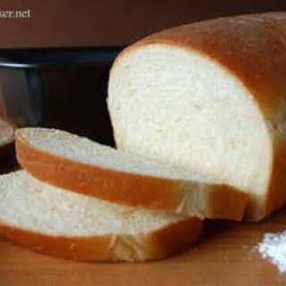 Soft and Easy White Bread (Bread Machine).