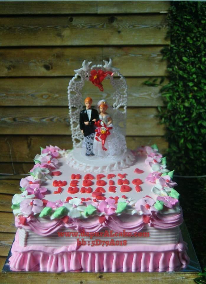 Wedding Cake Al Cake Kue Ulang Tahun Bekasi