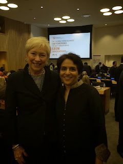 Anjum with Dr. Nancy L. Zimpher - Chancellor of SUNY