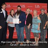 Fall 2017 Foundation Scholarship Ceremony - Hope%2BLions%2BClub%2BJohnny%2BRapert.jpg