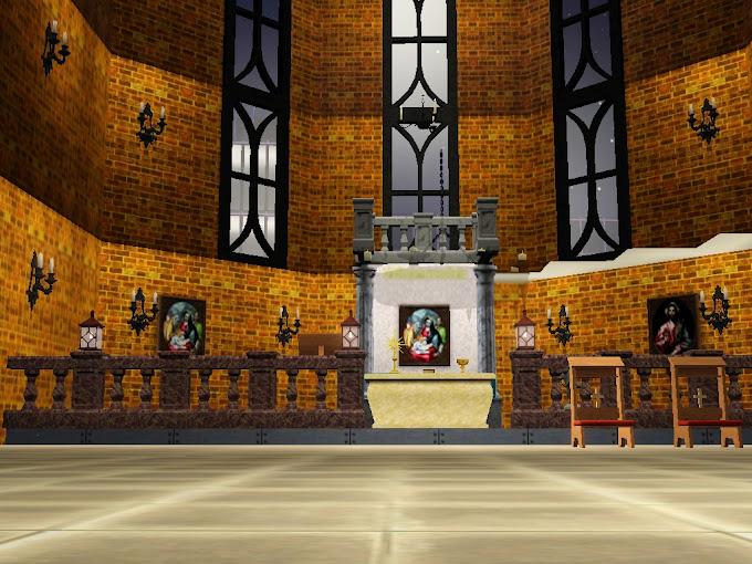 gothic altar sims3
