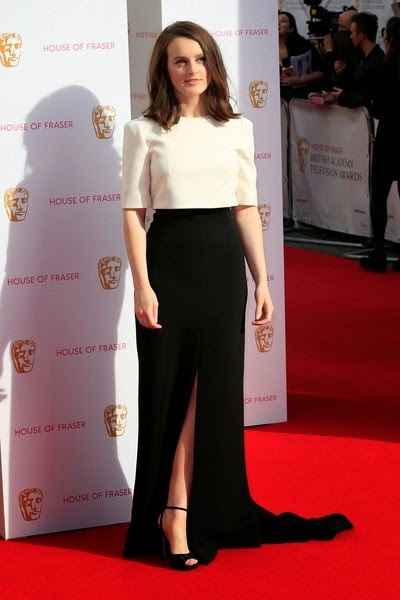 Sophie McShera attends the House of Fraser British Academy Television Awards