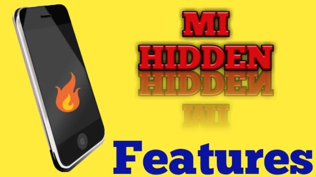 Redmi Smartphone Hidden Features