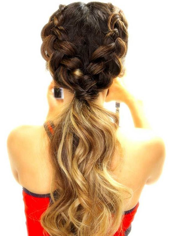 long hair -A collection of ideas for braided hair In 2017 9