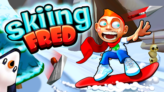 Skiing Fred 1.0.9 MOD for Android 1