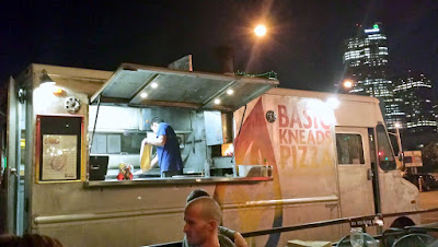 Basic Kneads Pizza, offering wood-fired pizza from their food truck