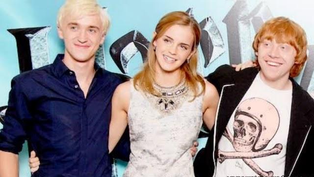 Rumores apontam que Emma Watson, Rupert Grint e Tom Felton se reunirá para o 20⁰ aniversário do primeiro filme de Harry Potter