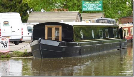 3 fat boat narrow canal