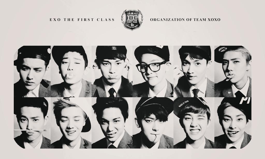 Exo Logo Wallpaper Exo...