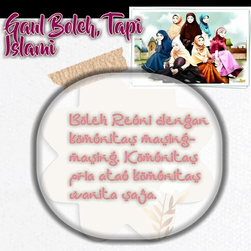 Gaul Boleh, Tapi Islami