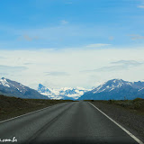 Ruta 40 rumo a El Calafate, Argentina