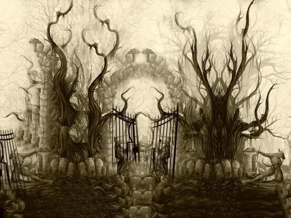 Horror, Fantasy Scenes 3
