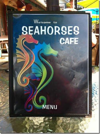 Lunch at Seahorses Cafe 3