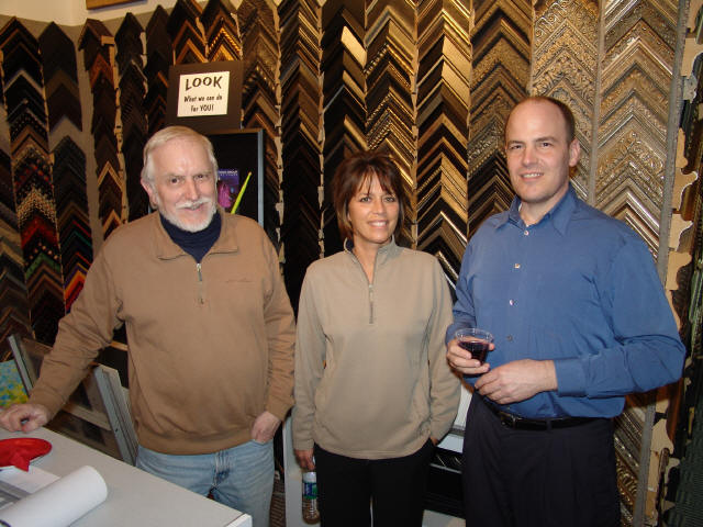 Event 2010: Wine & Cheese Gallery Open House - wcohmichelle.JPG