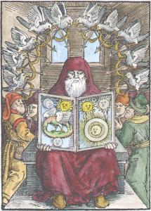 From Zadith Ben Hamuel De Chemia Senioris 1566, Alchemical And Hermetic Emblems 1